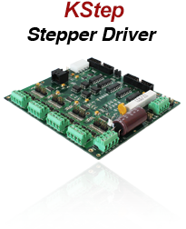 KSTEP 4-Axis Stepper Driver for KFLOP